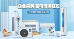 全国各地火速入夏,京东企业购家电清凉狂欢活